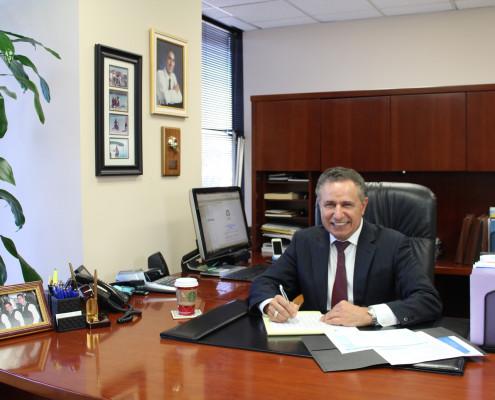 Marquis Ebrahimi At Office.
